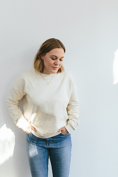 Online Nähen lernen Kleidung nähen Lisa Pullover
