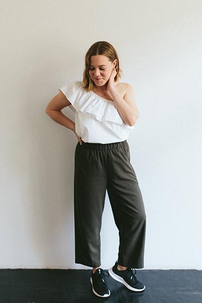 Online Nähen lernen Kleidung nähen Lisa Top