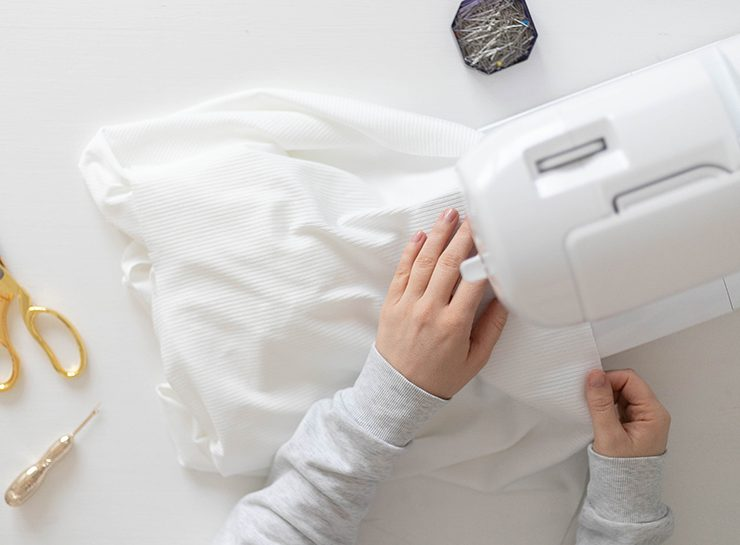 Online Nähkurs für Nähanfänger Kleidung nähen